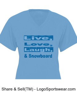 Women's Live, Love, Laugh, Design Zoom