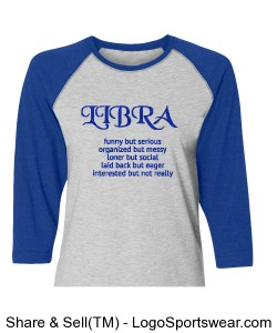 Women's Libra Design Zoom