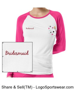 Bridesmaid - Team Bride Design Zoom